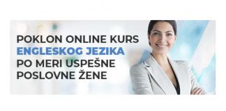 poklon online kurs engleskog jezika
